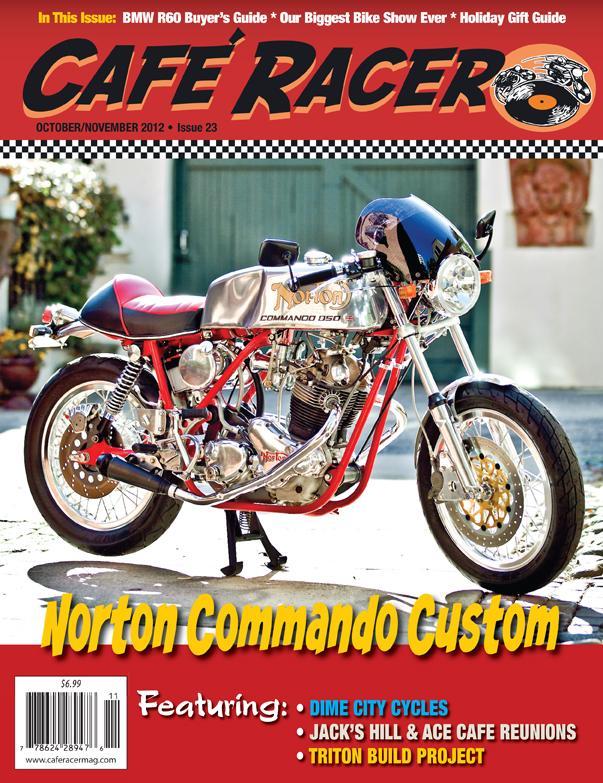 issue 23 caf racer magazine. Black Bedroom Furniture Sets. Home Design Ideas
