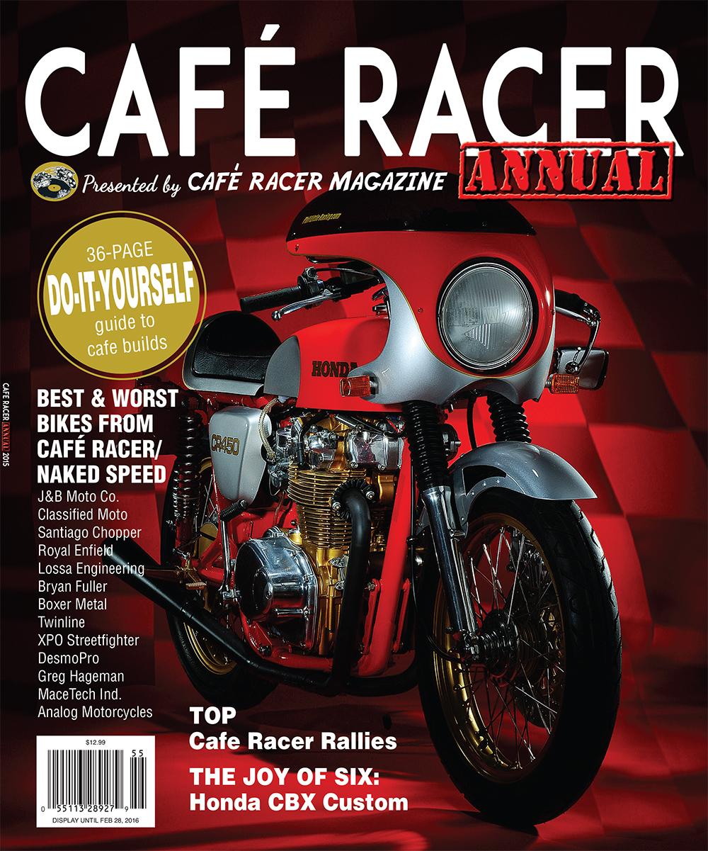 cafe racer 2015 annual. Black Bedroom Furniture Sets. Home Design Ideas
