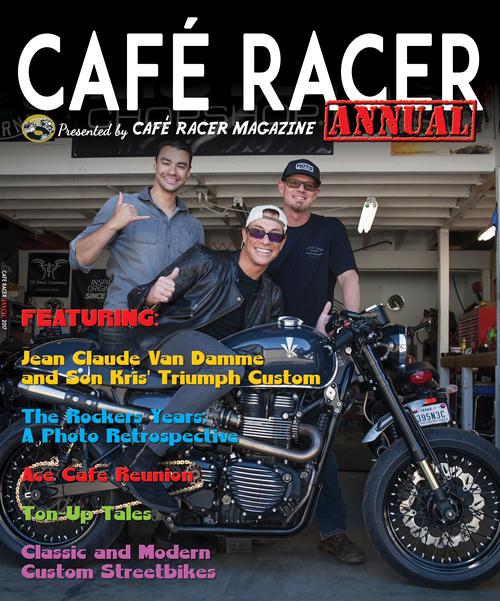 caf racer magazine. Black Bedroom Furniture Sets. Home Design Ideas